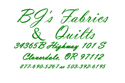 BJ's Fabric & Quilts