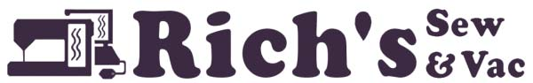 Rich's Sewing & Vac logo