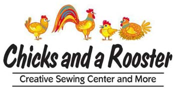 Chicks and a Rooster logo