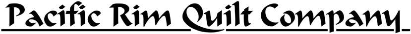Pacific Rim Quilt Company logo