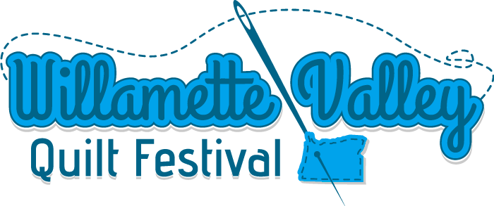 Willamette Valley Quilting Festival 2018 logo